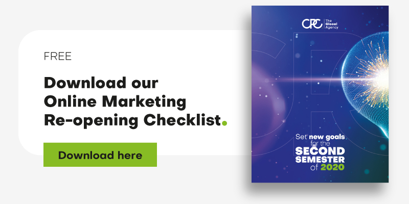 Download our Online Marketing Re-opening Checklist
